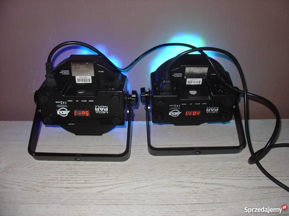 Stroboskop RGB LED pomorskie Dzierżążno