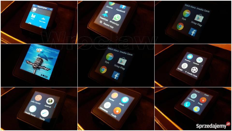 Smartwatch QW09 androd 3G wifi bluetooth 40 GPRS Wrocław sprzedam