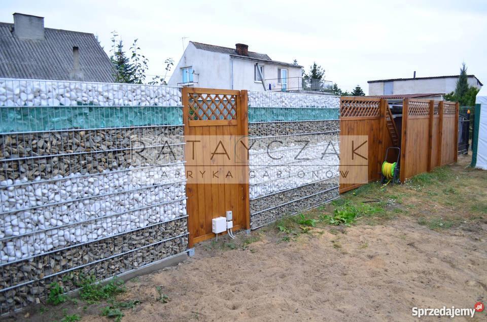 Cudowna Ogrodzenie gabionowe gabiony gabion PRODUCENT Gniezno - Sprzedajemy.pl OW57