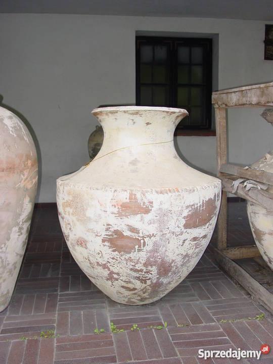 Donica Duża Ogrodowa Ceramiczna Antyczna