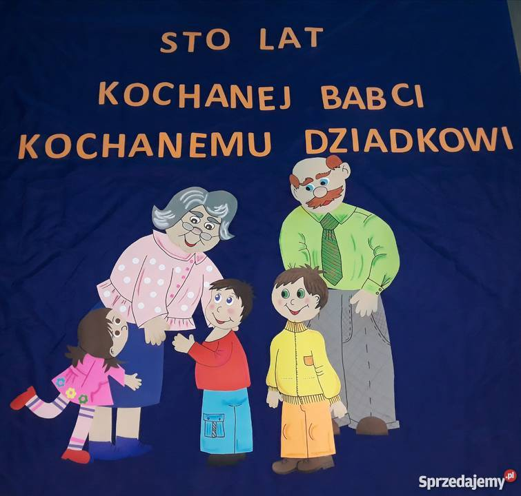 Dekoracja Dzień Babci I Dziadka Szkoła Przedszkole