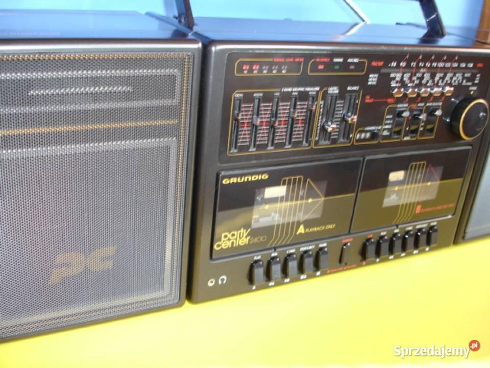 Radiomagnetofon GRUNDIG PARTY CENTER 2400