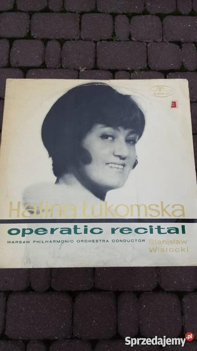 Płyta winylowa Halina ŁukomskaOperatic Recital klasyczna Muzyka mazowieckie Warszawa