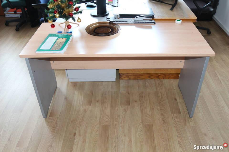 Zaktualizowano duże biurko stół (160-180 cm szer) do domu, biura, warsztatu TB37