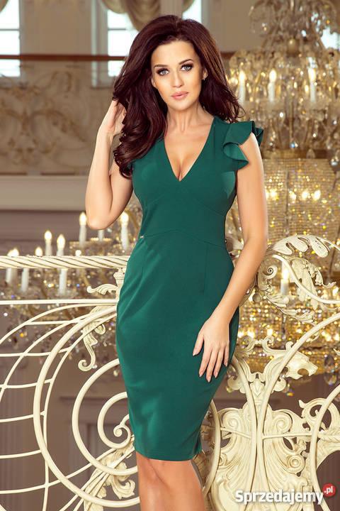 f7cf86e251 sukienki butelkowa zieleń - Sprzedajemy.pl
