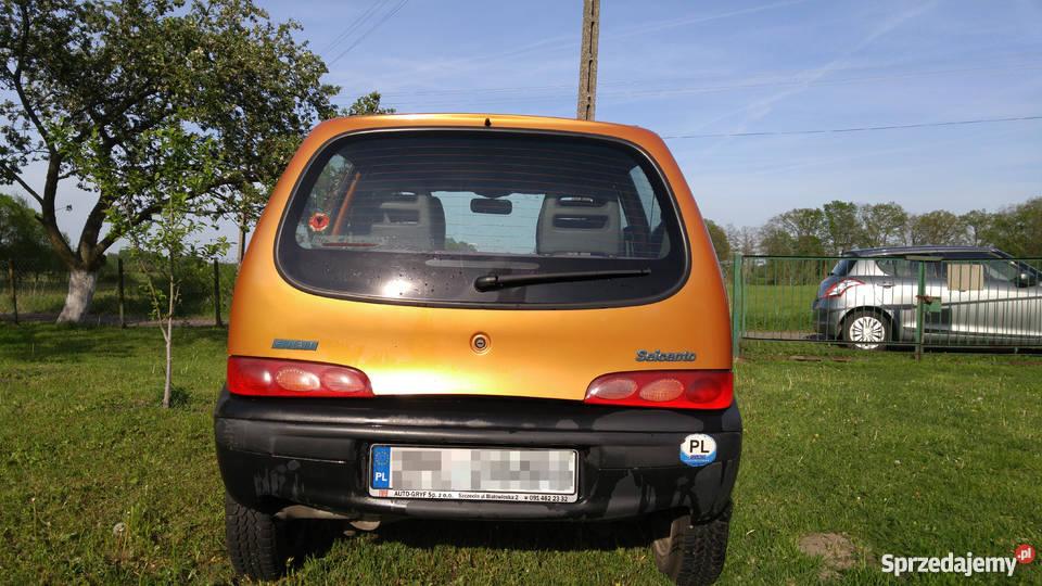 Fiat Seicento Young 2000r pojemność 900 zachodniopomorskie Police