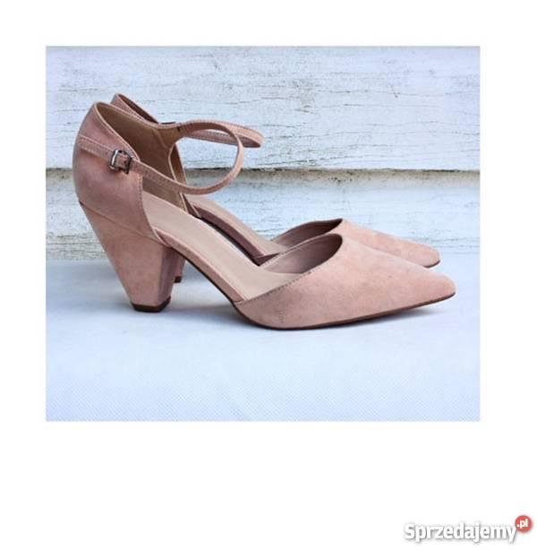 buty pudrowy róż Sprzedajemy.pl