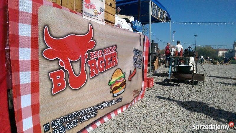 Zaktualizowano Sprzedam biznes - stoisko street food RED BEEF BURGER Kraków TS21