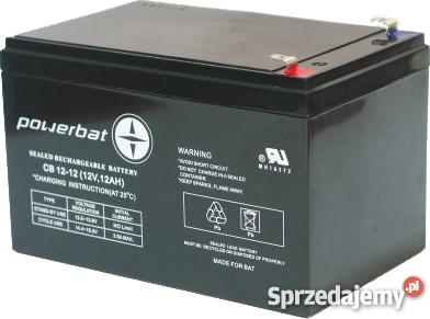 Ogromny akumulatory żelowe 12v do wózków inwalidzkich - Sprzedajemy.pl MZ44