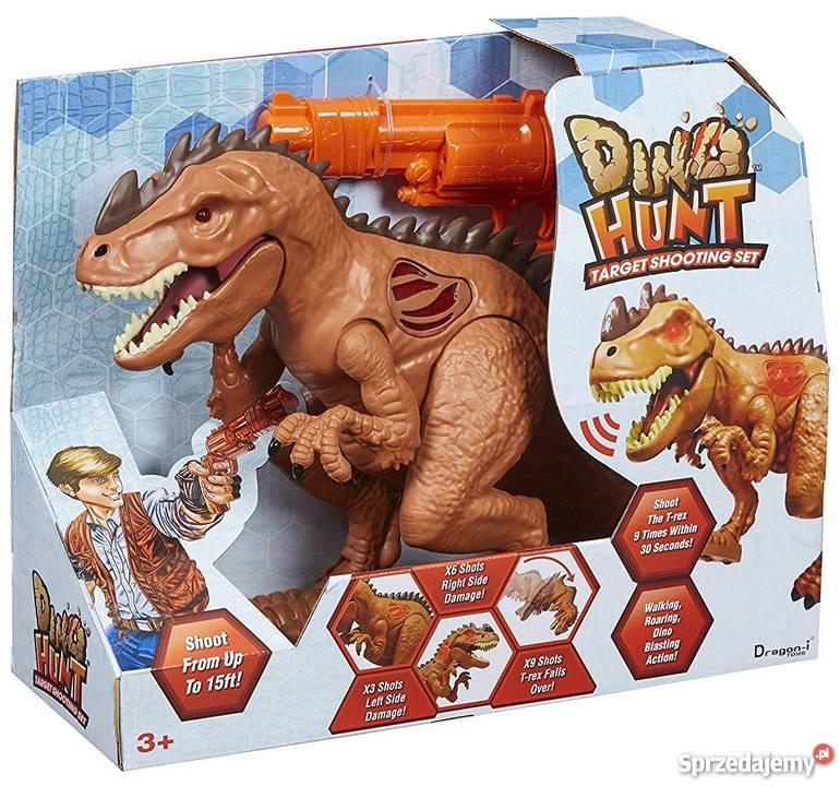 T Rex Polowanie Na Tyranozaura Dinozaur Gra Zabawa Dino Hunt