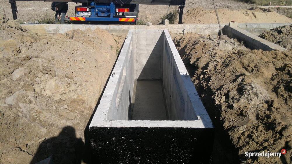 Cudowna Kanał samochodowy warsztatowy szczelny odlew betonowy NOWOŚĆ DO12