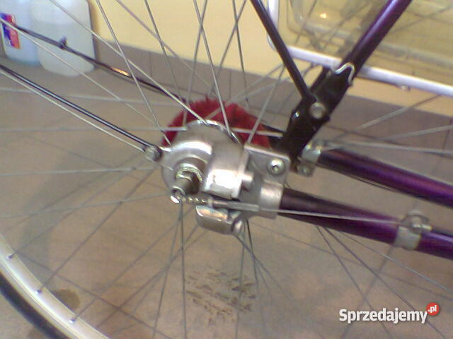 Rower z napędem na wał kardana