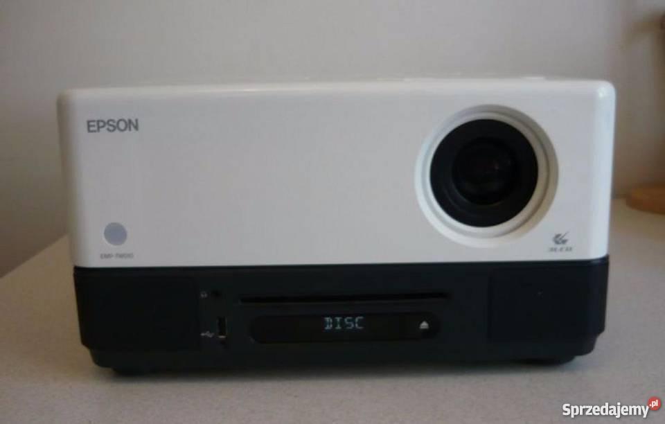 Projektor multimedialny odtwarzacz DVD i USB EPSON EMP-TWD10