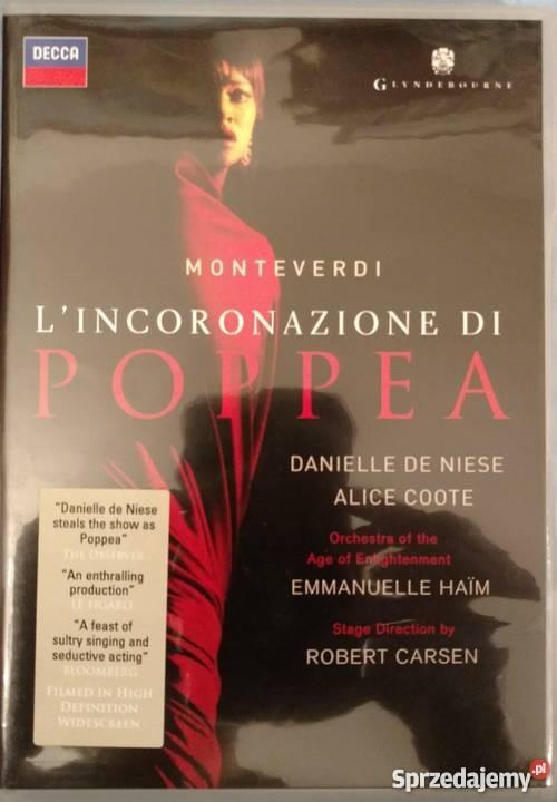 Monteverdi LIncoronazione di Poppea HAIM DE Warszawa
