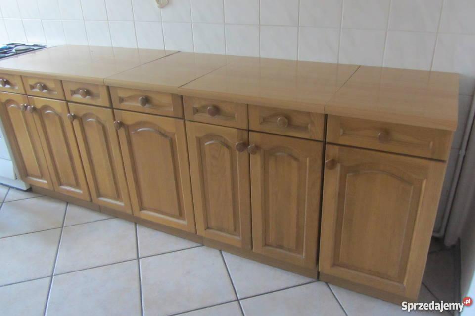 Meble Kuchenne Drewniane Olx