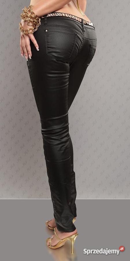 Spodnie woskowane ala skóra Bydgoszcz