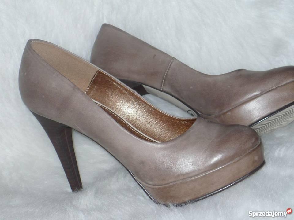52e34401 buty na platformie beżowe - Sprzedajemy.pl