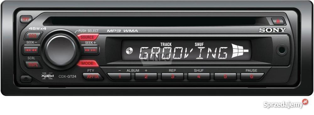 Modish radio samochodowe Sony Xplod GT-24 - Sprzedajemy.pl NN26