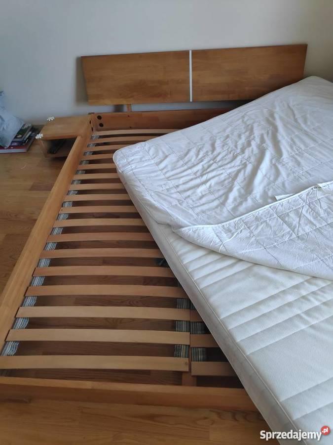 łóżko Drewniane Sypialniane 160x200