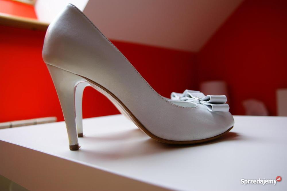 Skórzane buty ślubne Kielce