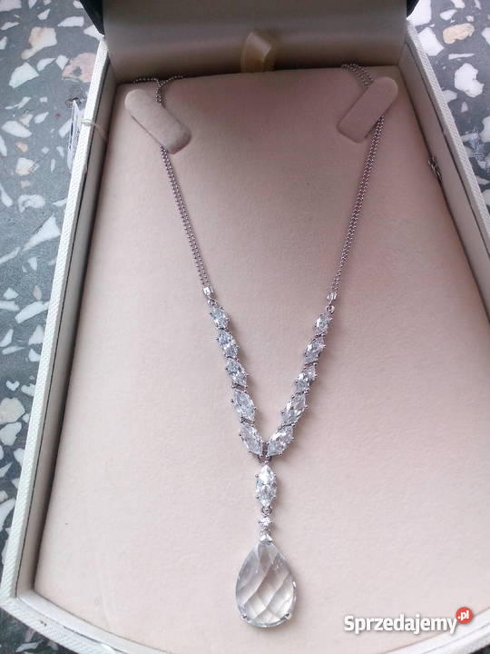 79590143b8ec12 Biżuteria, naszyjnik z cyrkoniami APART, NOWY Gniezno - Sprzedajemy.pl