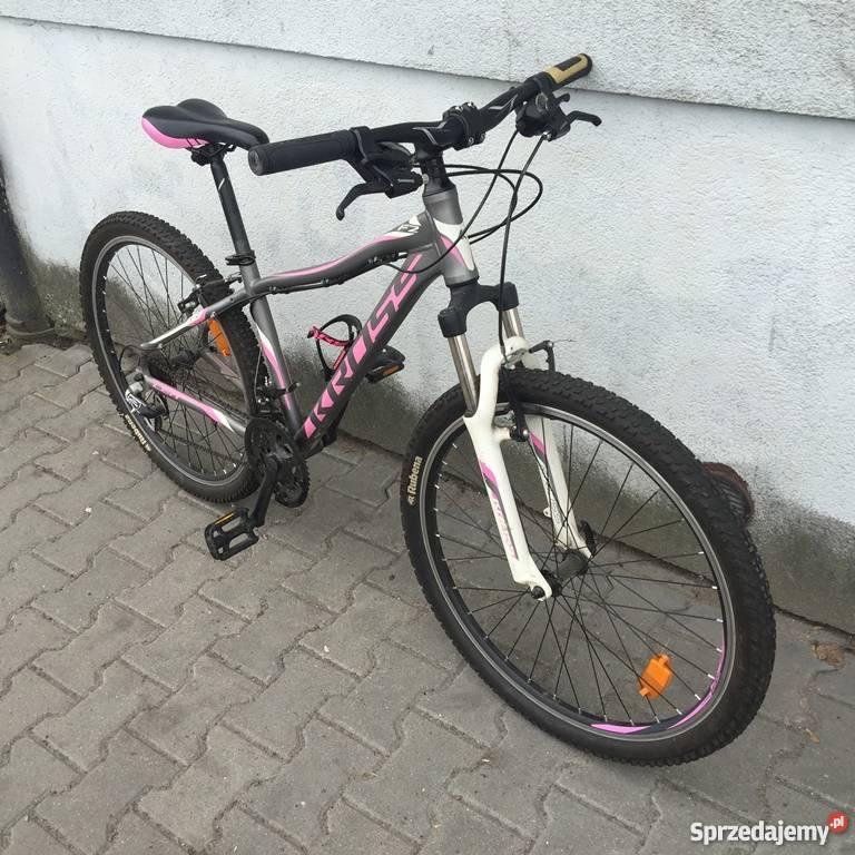 Rower KROSS LEA F2 różowografitowy Górskie, MTB Warszawa sprzedam