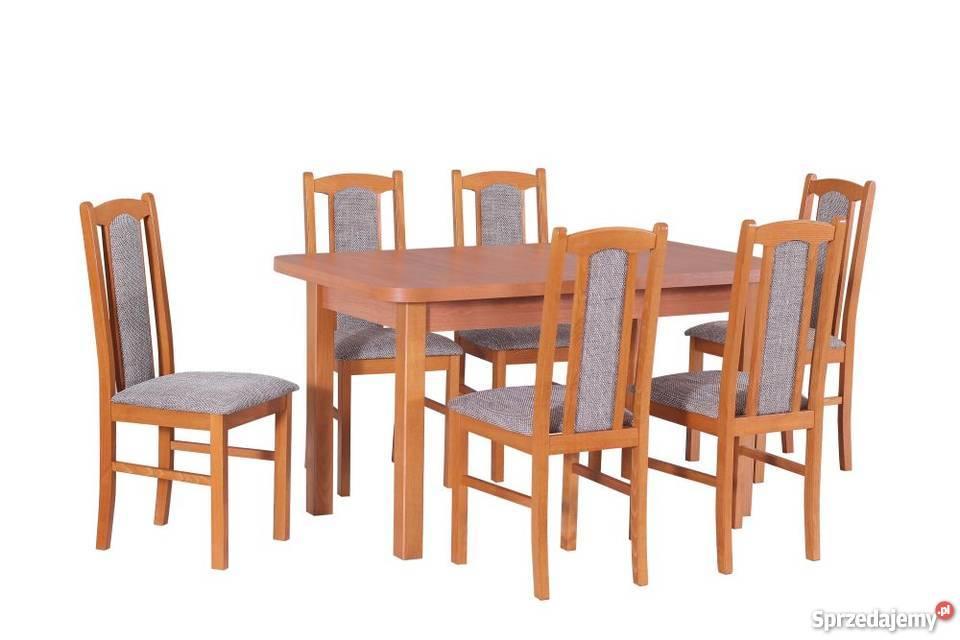 Stół 80140180 6 Krzeseł Tanio Rudziniec