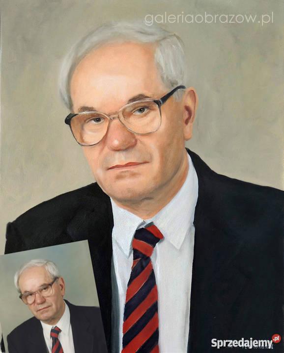 Portrety olejne łódzkie Łódź