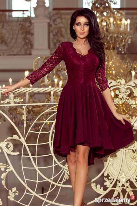 e8b0c85b8d JOKA NICOLLE sukienka asymetryczna koronka S M L XL BORDOWA Mykanów ...