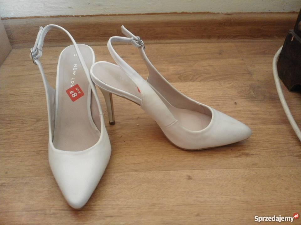 da6709db NOWE białe szpilki NEW LOOK Sosnowiec - Sprzedajemy.pl