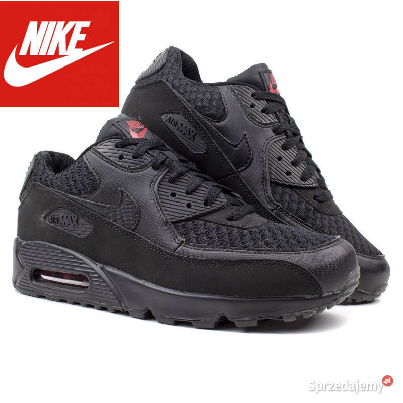 Nike Air Max 90 model 084 rozm 42,43,44,45,46 CZARNE