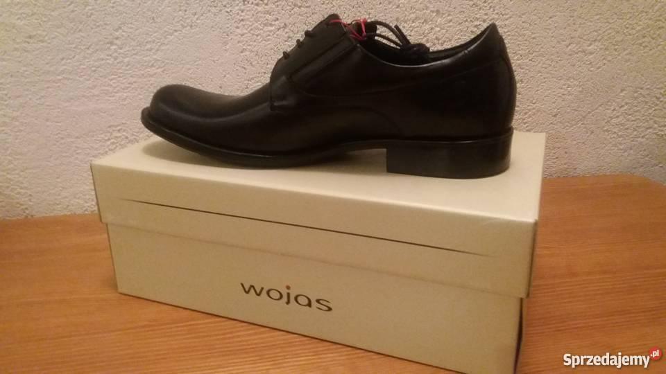 fe9d3b91 Buty męskie pantofle Wojas skóra czarne Olsztyn - Sprzedajemy.pl