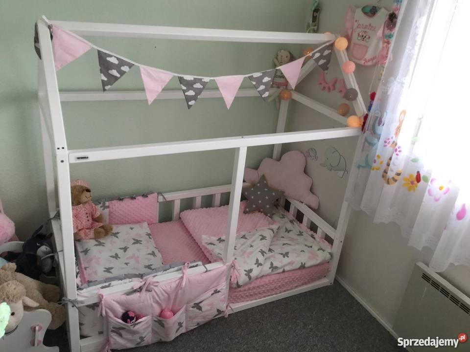 łóżko Domek Housebed 160x80 Wysyłka Różne Rozmiary Białe Gorlice