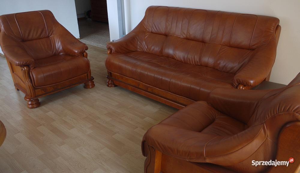 wypoczynkowy 311 SKÓRA fotel sofa KRAKÓW swarzę Komplety wypoczynkowe Kraków