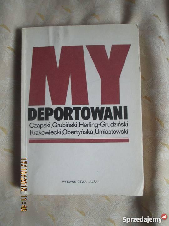 My deportowani praca zbiorowa mazowieckie Warszawa