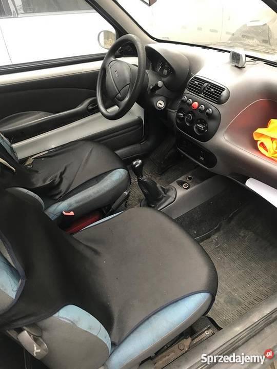 Fiat Seicento Vat Vat1 FV 23 Uszkodzony Koszty immobilizer śląskie