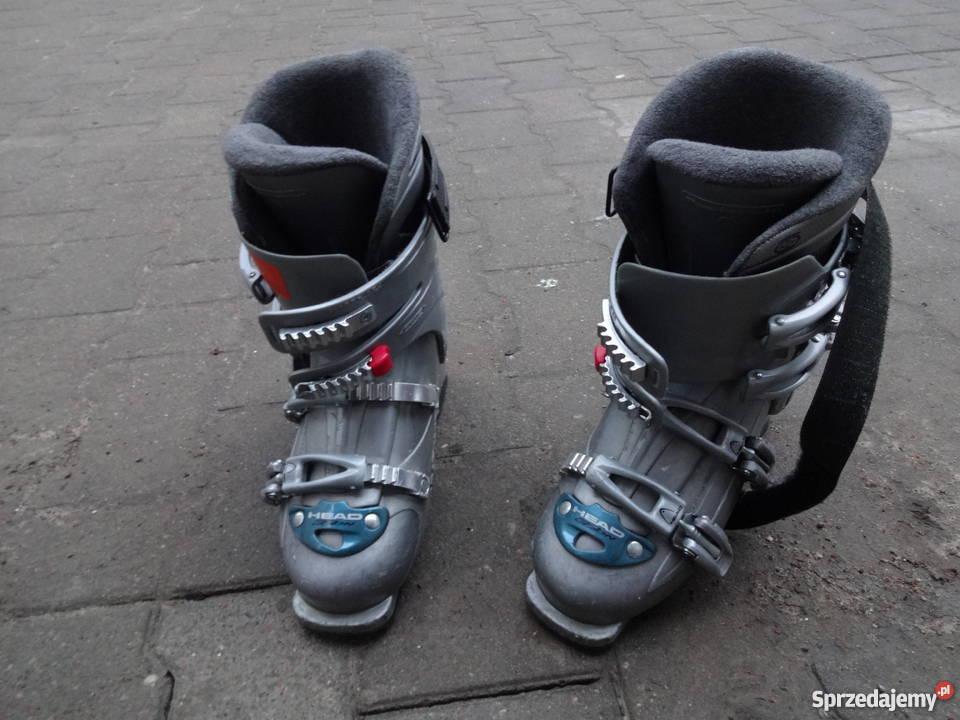 Okazja! Buty narciarskie HEAD rozmiar 26,5 szare