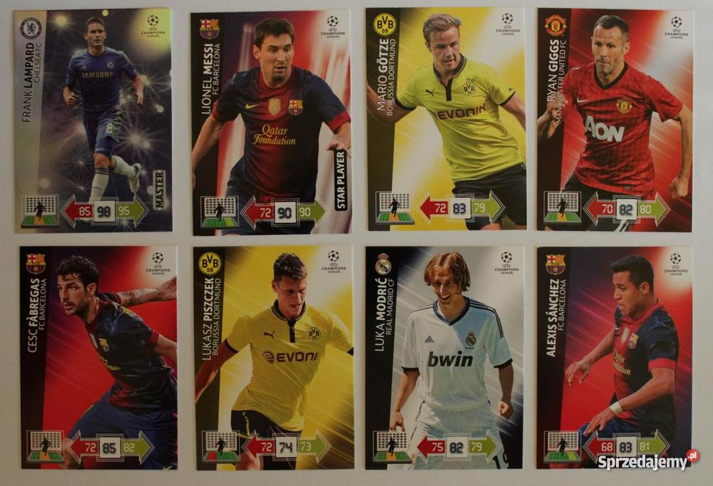 Karty Panini UEFA Champions League 201213 Pozostałe Częstochowa sprzedam