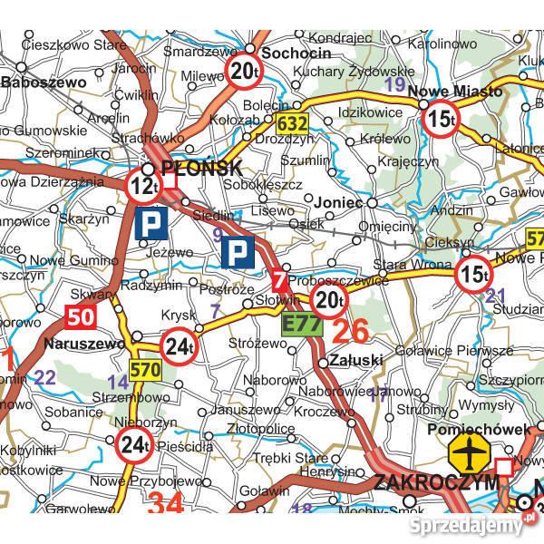 Mapa Polski Drogowa Viatoll Dla Kierowcy Aktualna Katowice