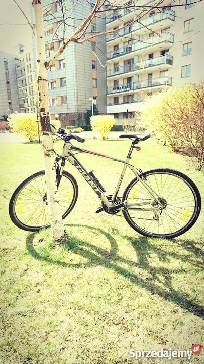 Ekstra rower Giant ROAM 3 srebrny 2014 Warszawa