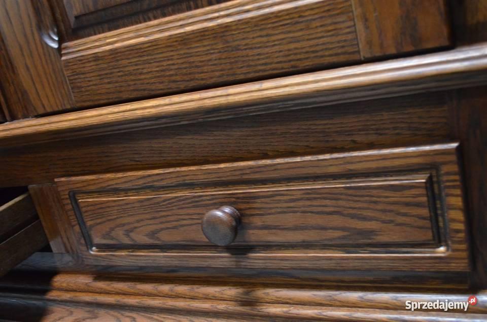 szafa dębowa bieliźniarka ubraniowa meble holenderskie