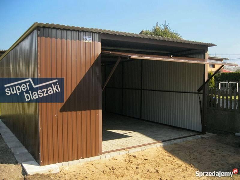 Wybitny Garaże Blaszane 4x5 blaszak RAL Śląsk dowóz i montaż gratis GZ64