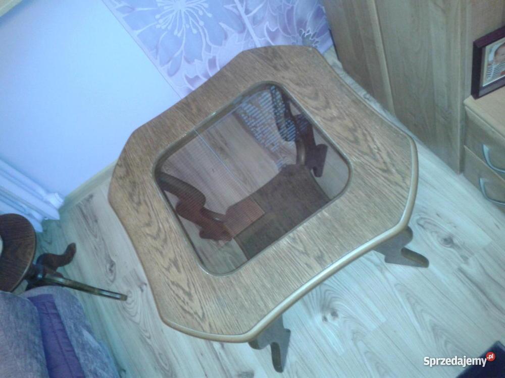 Stolik drewniany dębowy Warszawa