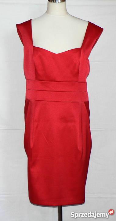 f27124d6b9 F F  piękna czerwona wizytowa sukienka roz.50 Łódź - Sprzedajemy.pl