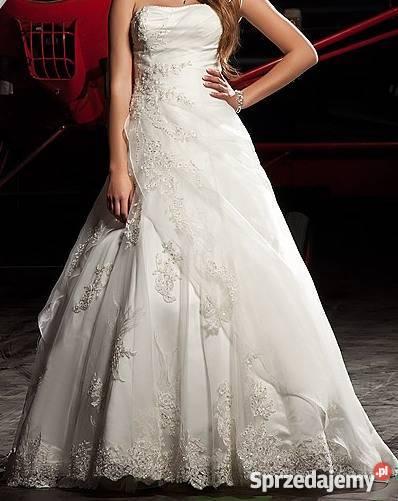Piękna Suknia ślubna Annais Bridal Majesty Kolor Ivory 3840 Wrocław