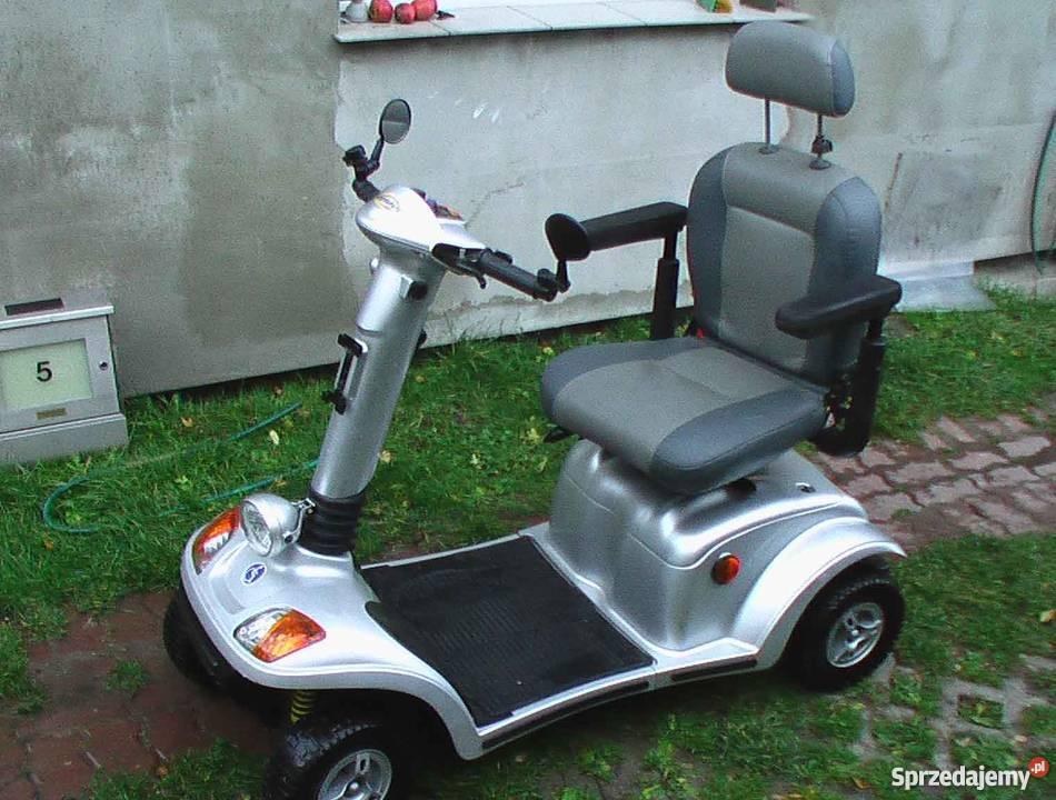 W Mega używany elektryczny wózek inwalidzki - Sprzedajemy.pl ND24