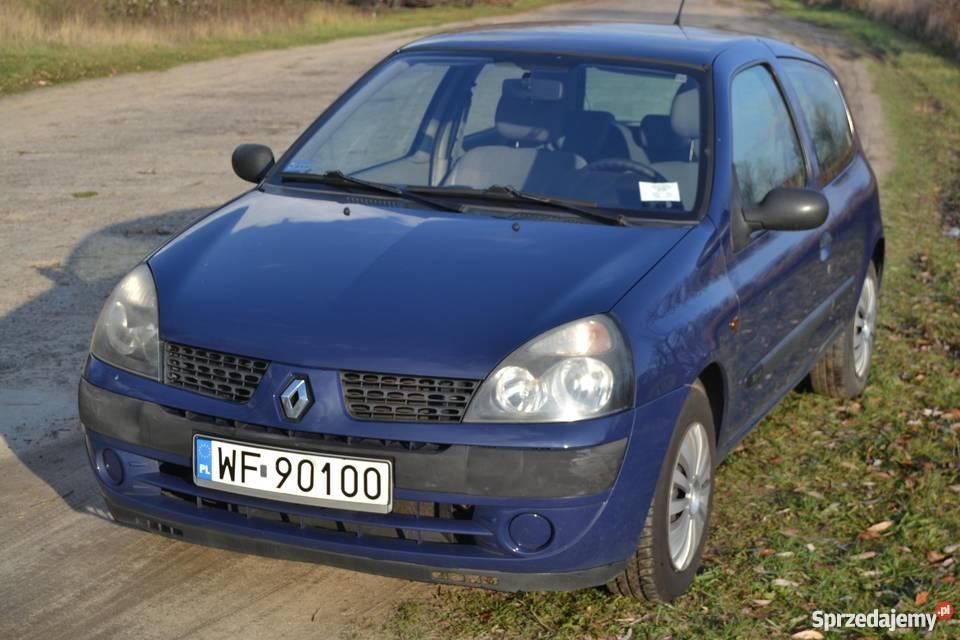 Chwalebne RENAULT CLIO II 1.2 16V 2001 r. Warszawa - Sprzedajemy.pl SH41