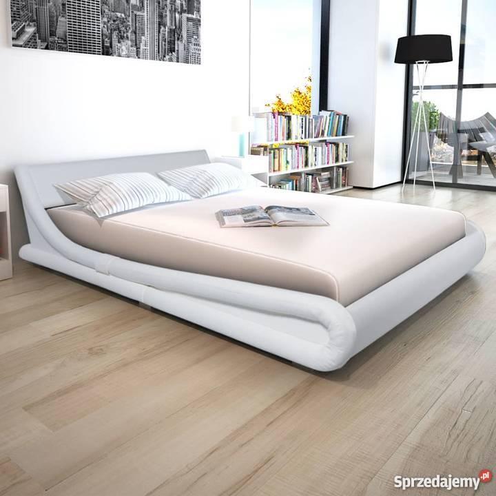 Vidaxl Rama łóżka 160x200cm Sztuczna Skóra 243361