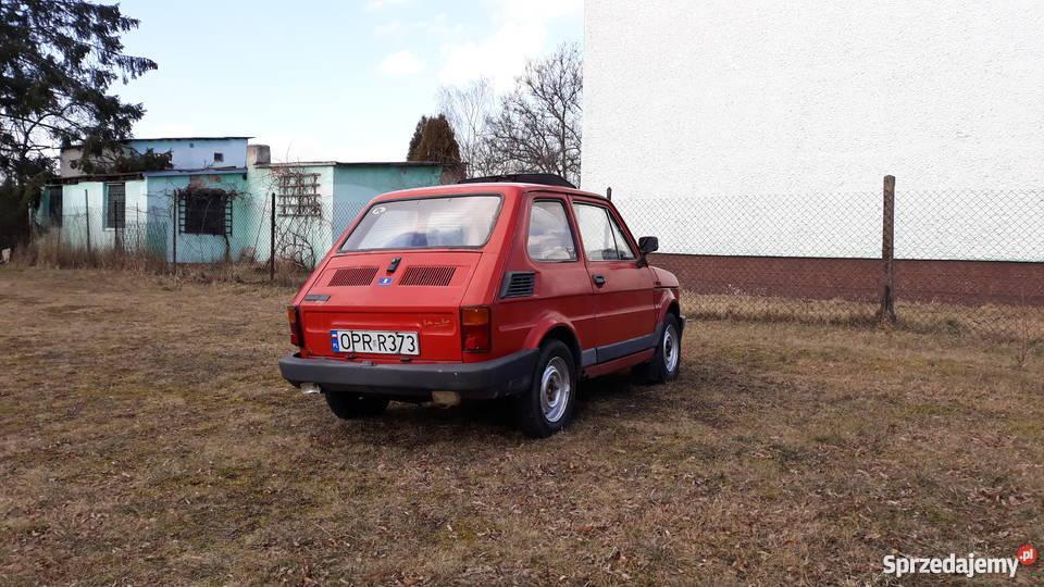 Fiat 126 P z szyberdachem manualna opolskie Kędzierzyn-Koźle sprzedam