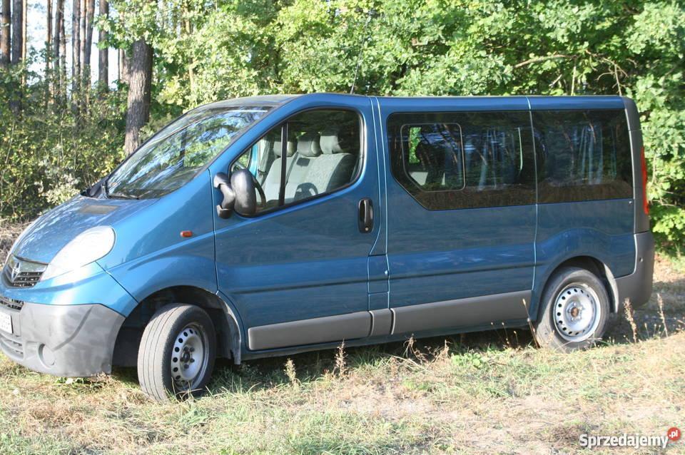 Świeże Opel Vivaro 2,0 TDCI 9-cio osobowy 226tys. Hajnówka - Sprzedajemy.pl HC25